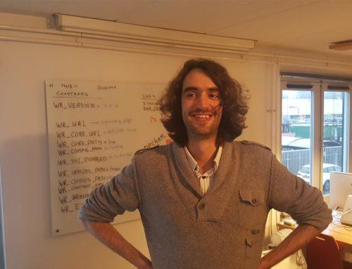 Dit is onze nieuwe collega, Max Wiegel